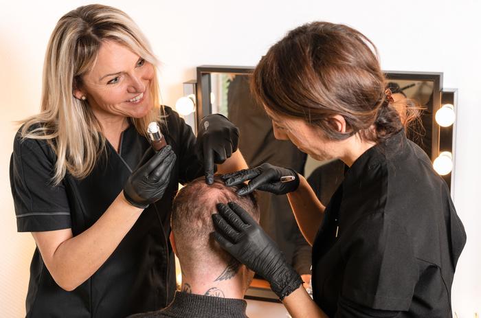 Master class sur la teinture des cheveux longs